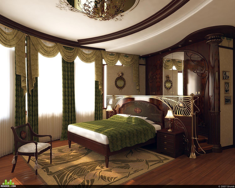 preview Спальня в art-nouveau