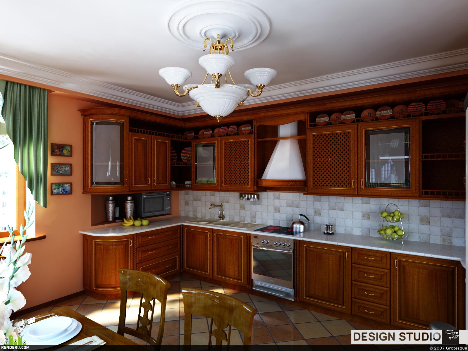 preview Кухня дача генерала