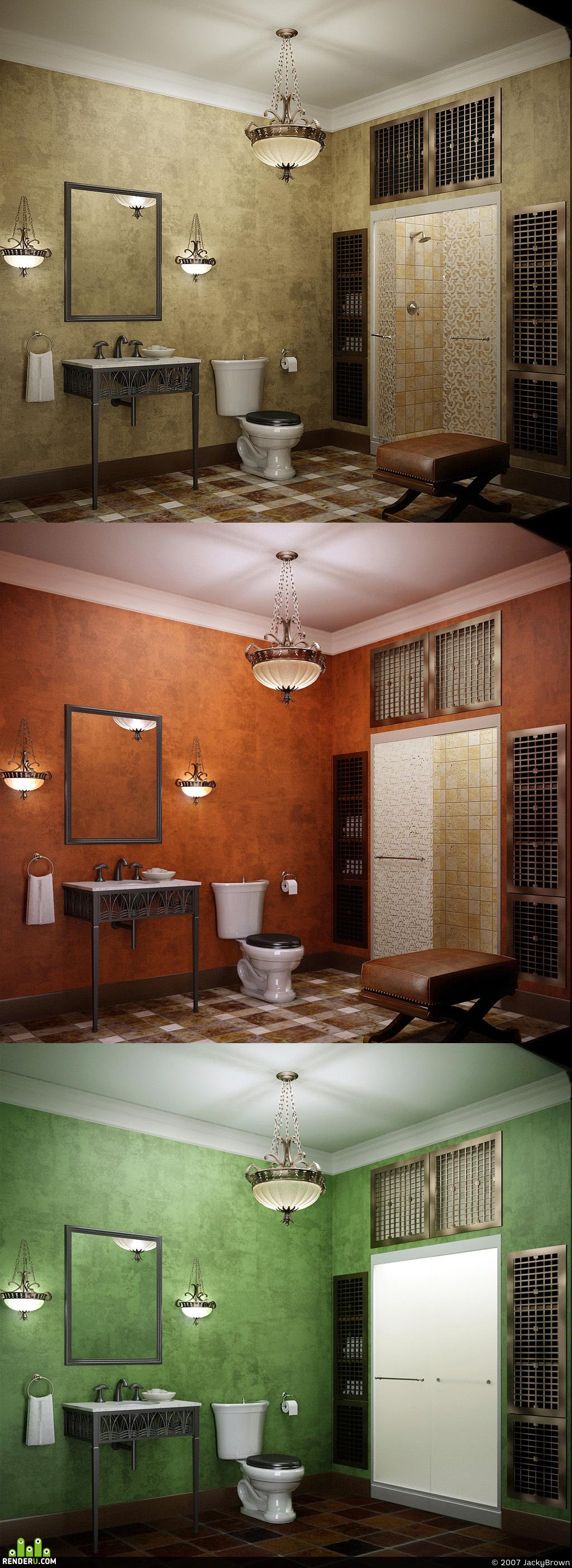 preview Туалет в восточной стилистике