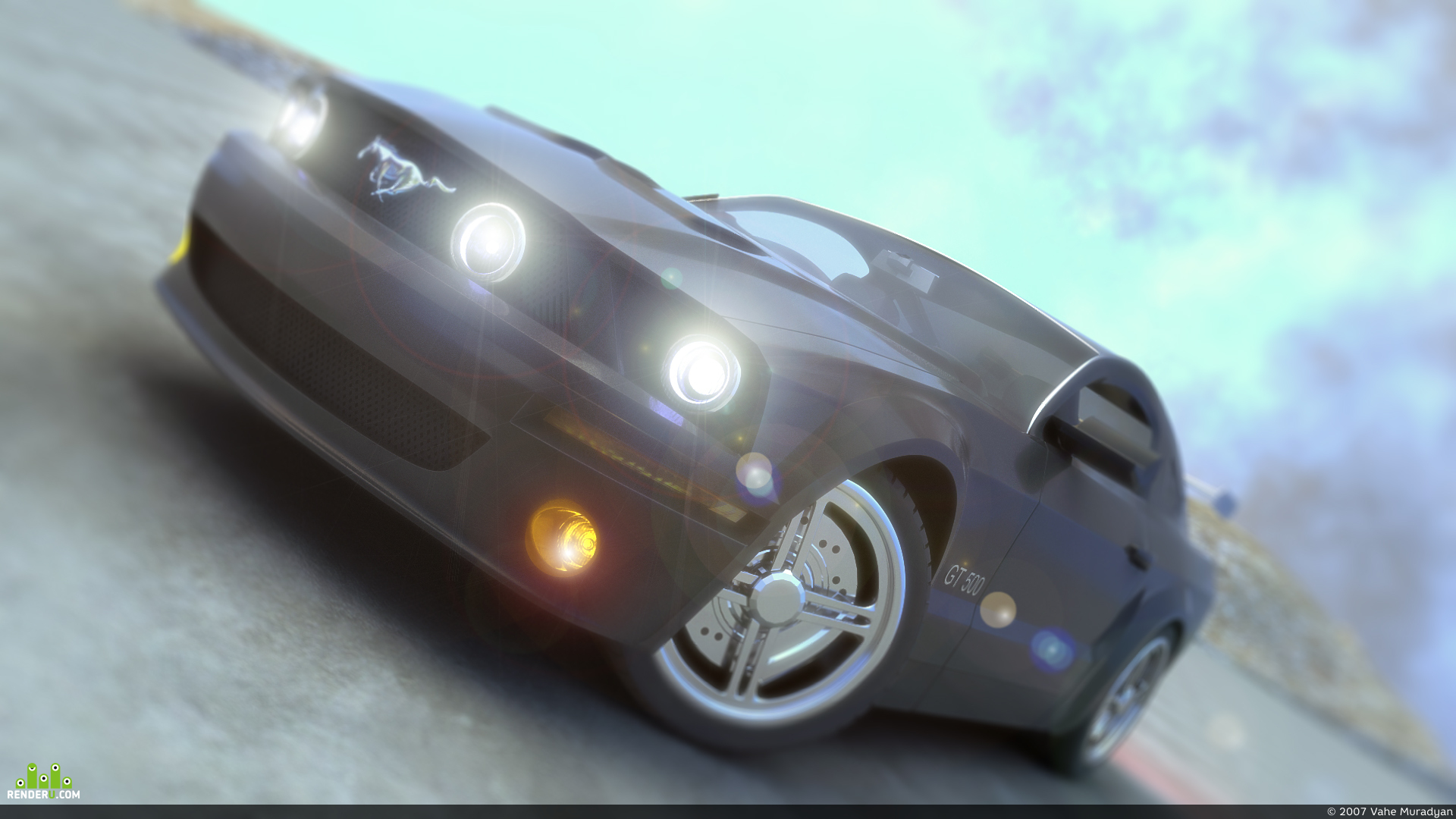 preview Ford gt500