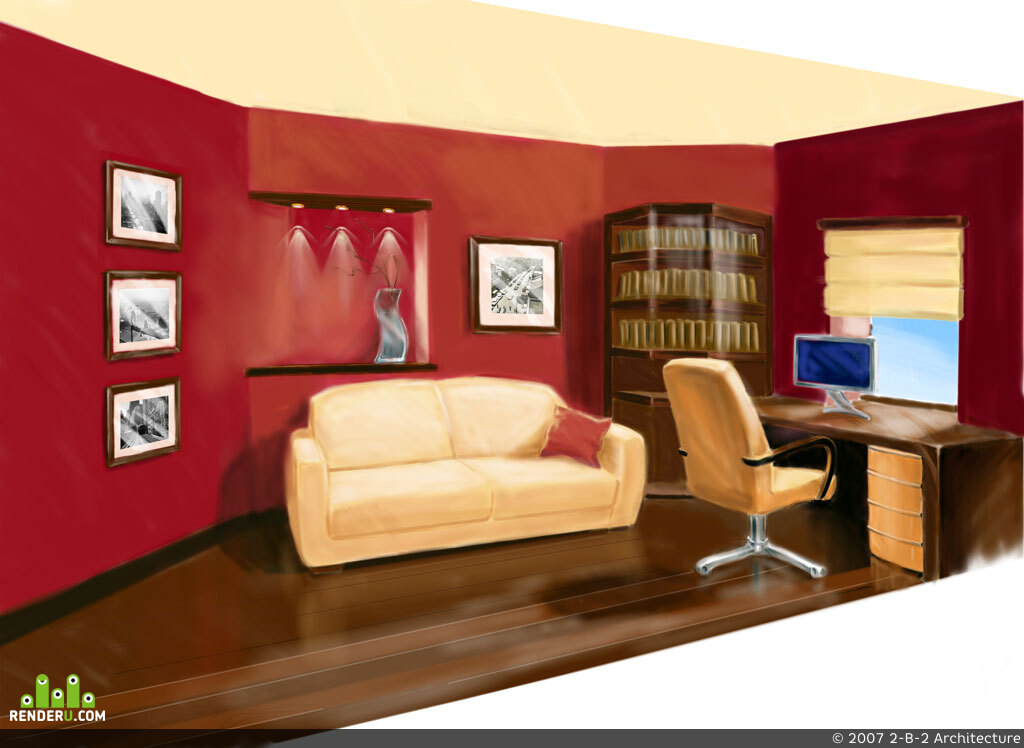 preview Интерьер кабинета