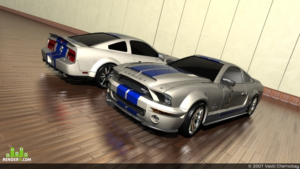 preview 2008 Ford Mustang Shelby GT500KR