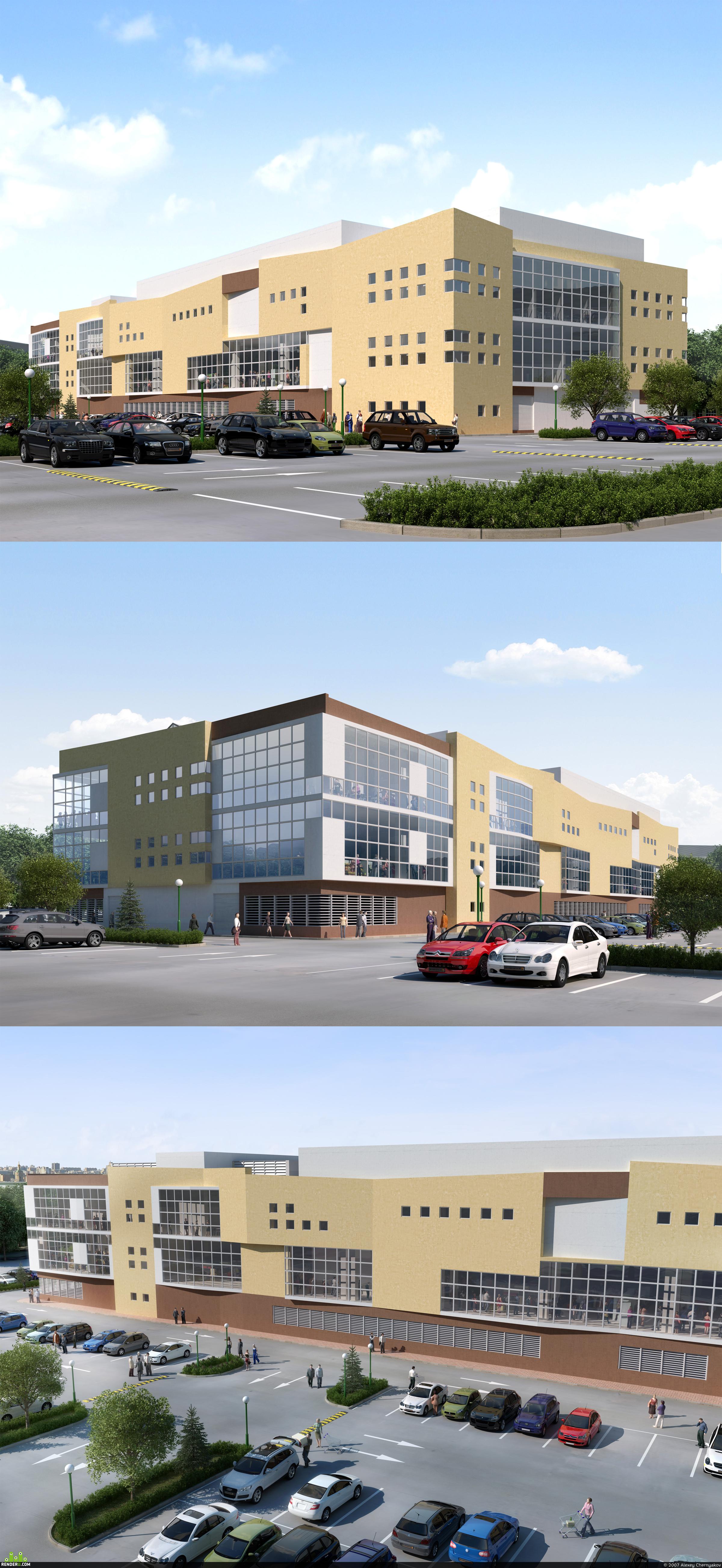 preview Торговый комплекс в городе Клин