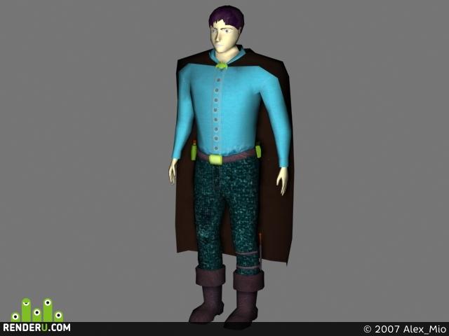preview Модель человека