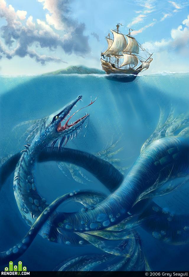 preview Морское чудовище
