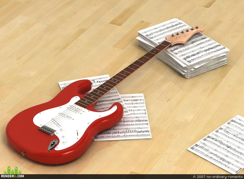 preview Моя гитарка
