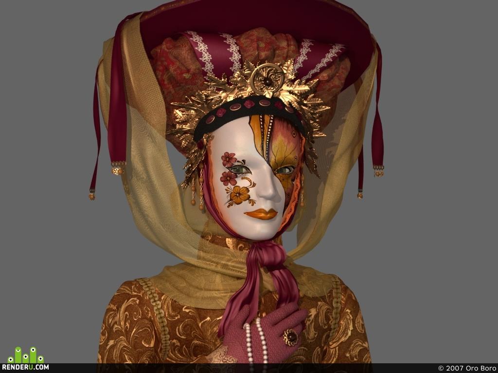 preview Венецианская маска