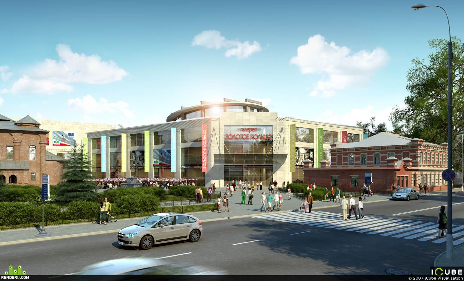 preview  Торговый центр «Золотое кольцо» г. Ярославль