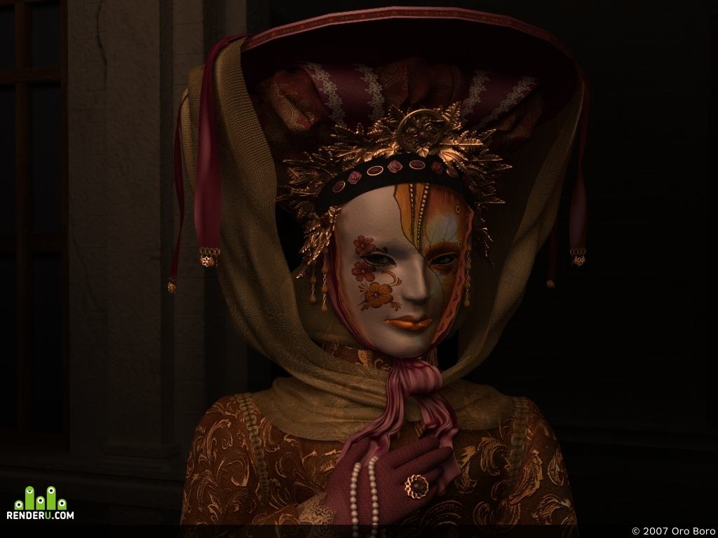preview Венецианская маска (доработка)