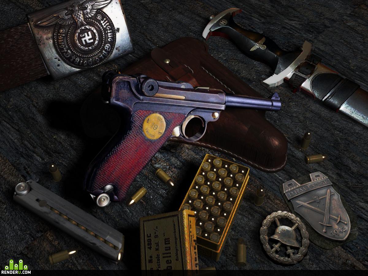 preview Пистолет Luger (P-08)