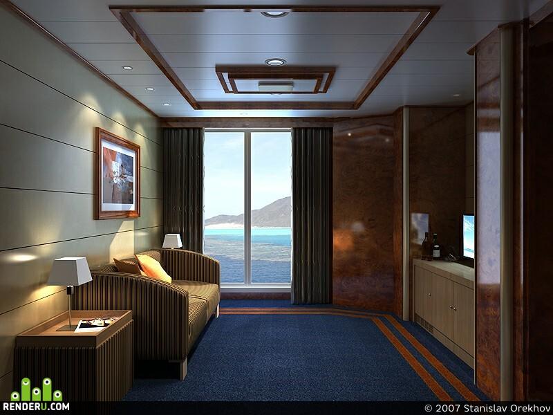 preview Каюта на корабле