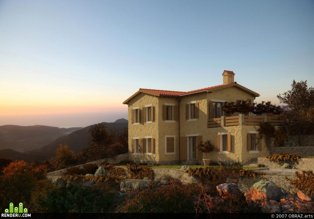 preview Итальянский домик