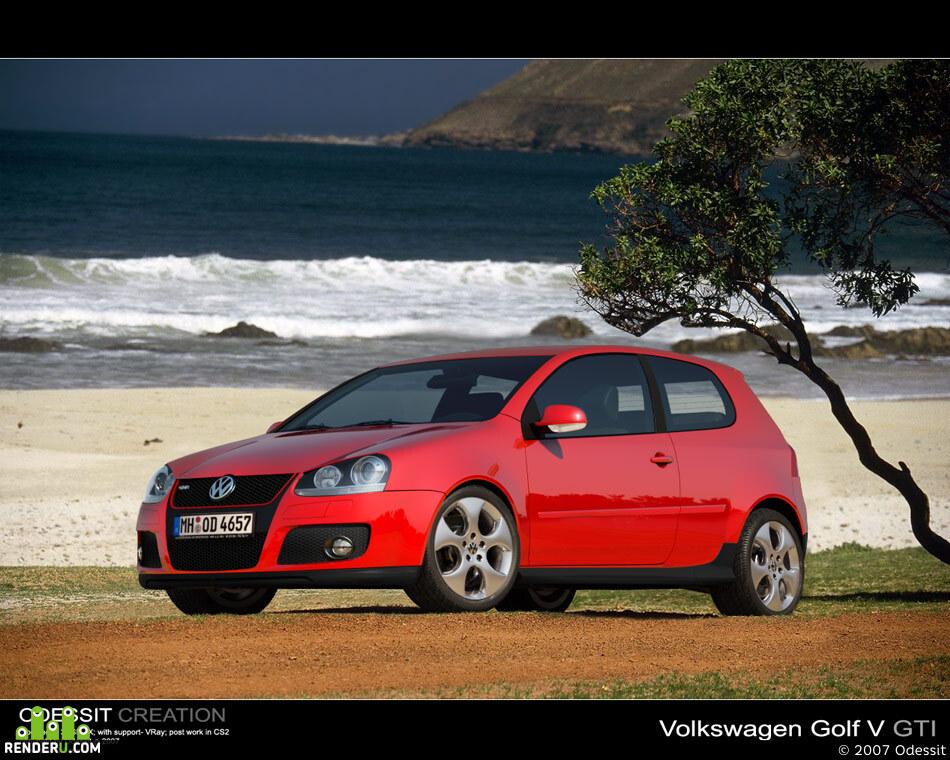preview Volkswagen Golf V Gti