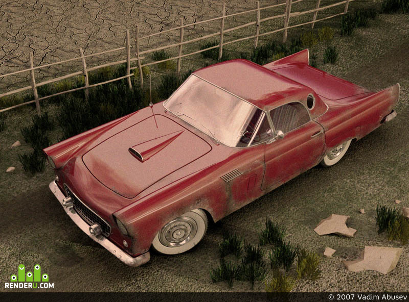preview Ford Thunderbird 1956
