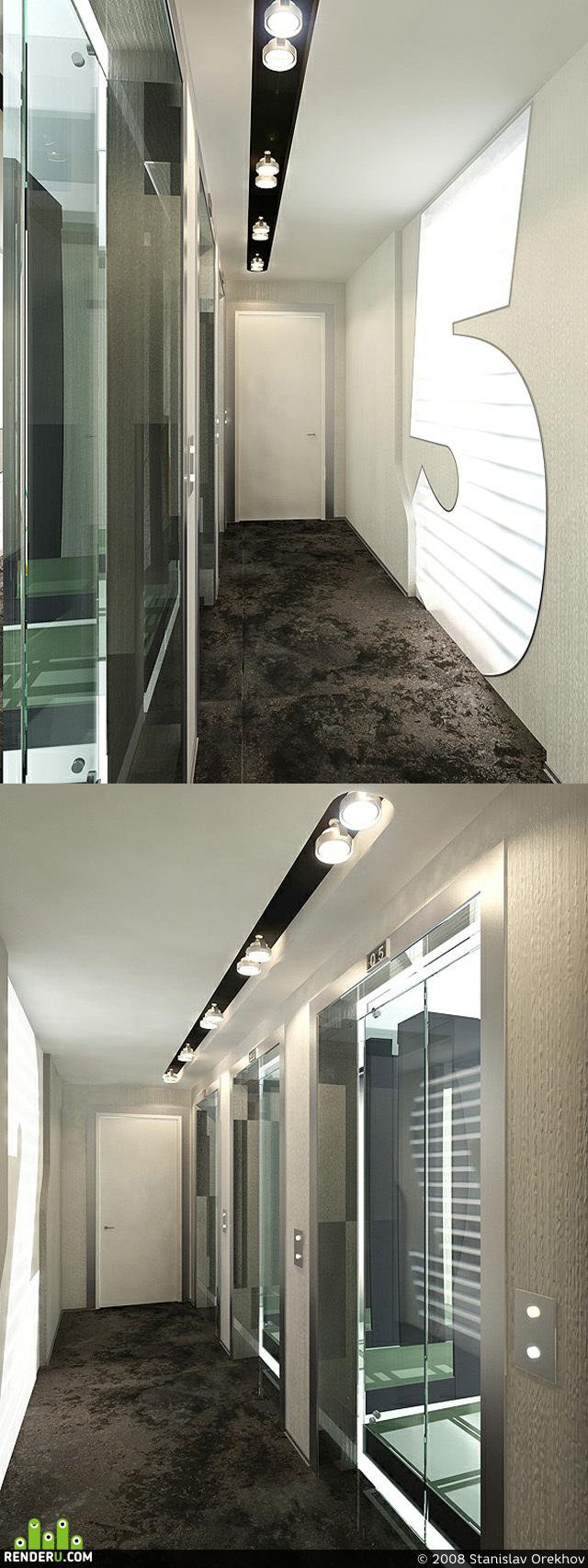 preview Лифтовой холл офисного здания