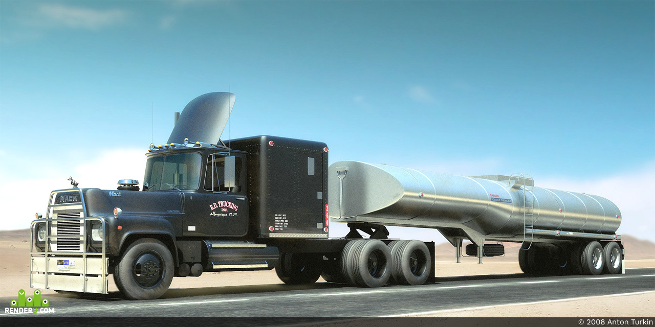 preview Mack RS786LST Rubber Duck