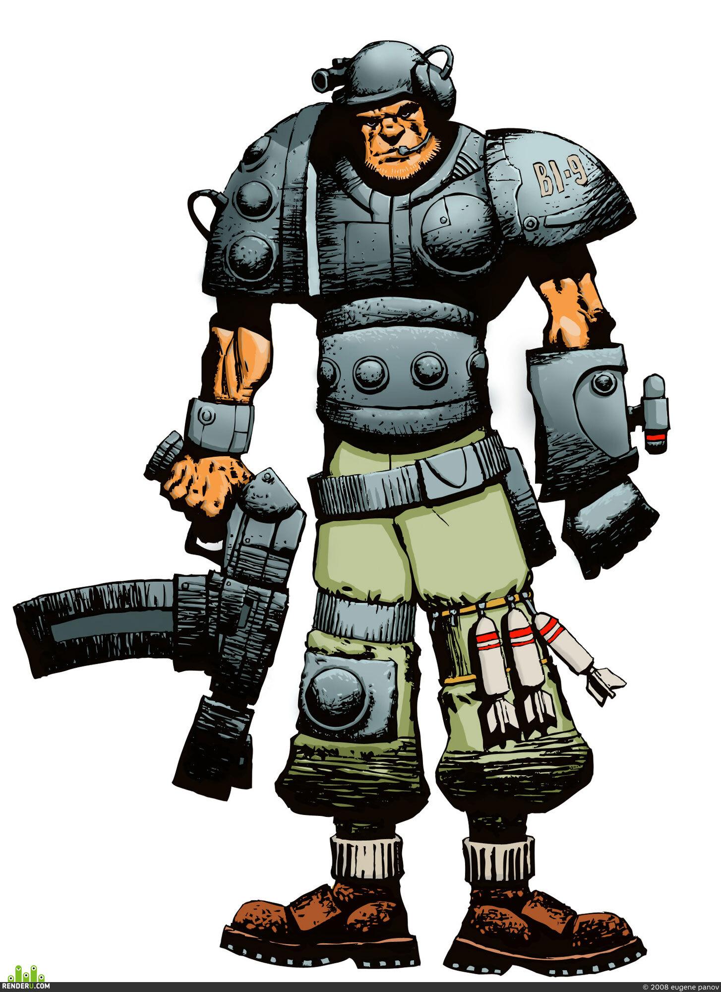 preview Фентези-солдат