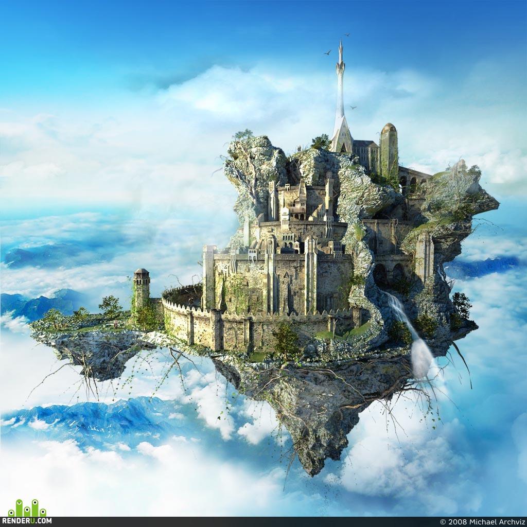 preview летающий замок