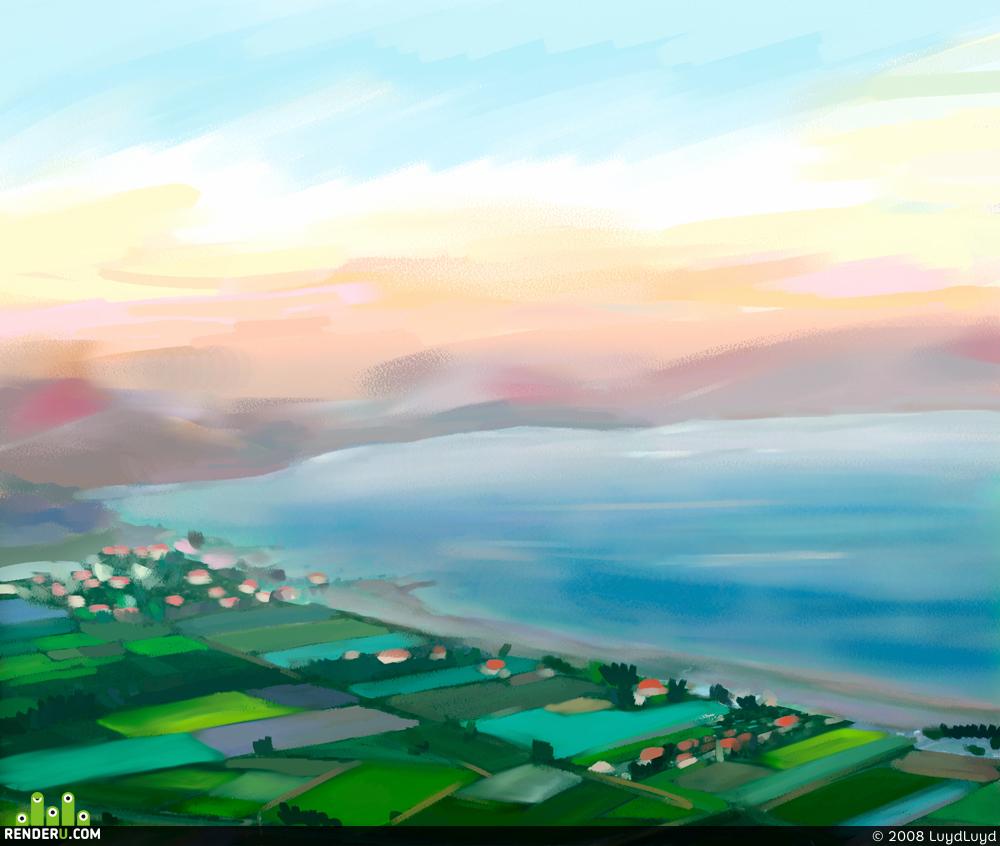 preview Тибериатское озеро