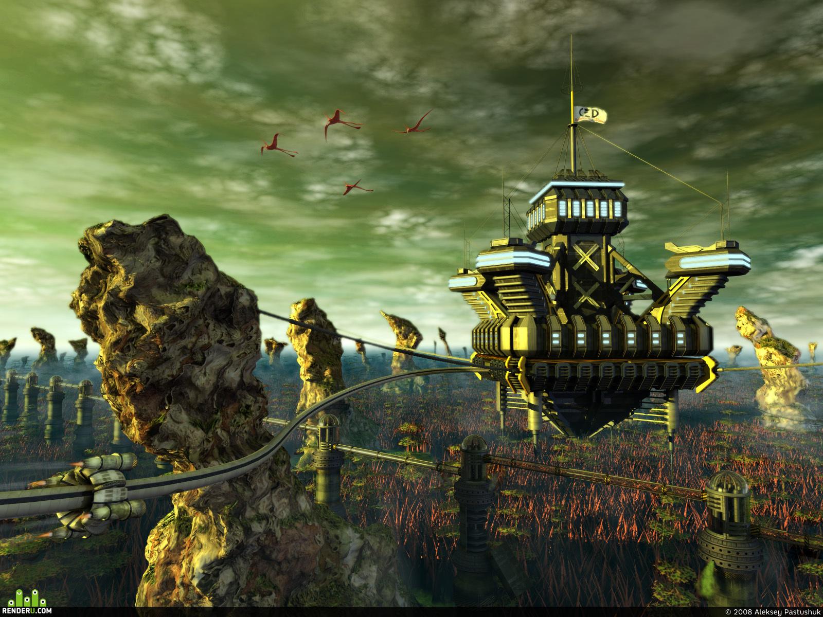 "preview Лаборатория ЛВ-0251 ""Летающий замок"""