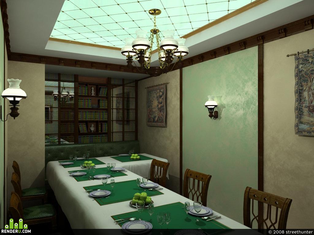preview квартира(холл и кухня)