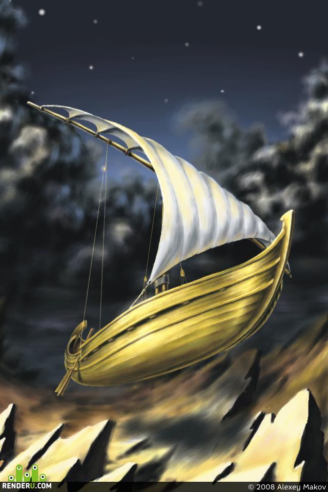 preview летучий корабль
