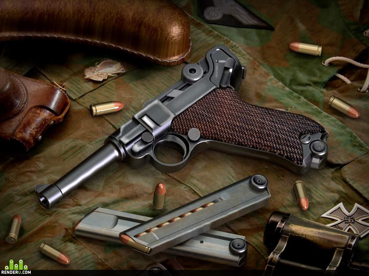 preview Пистолет Luger (P-08)-2