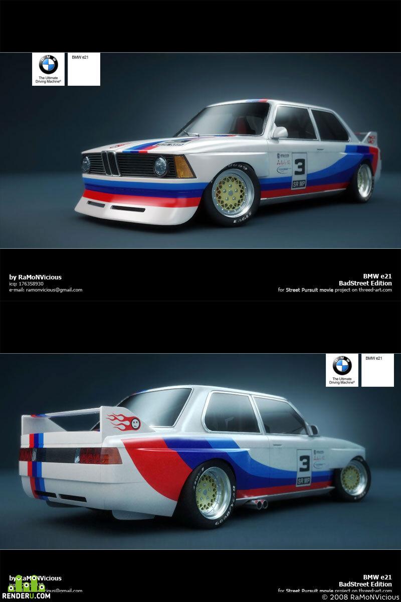 """preview BMW e21 """"BadStreet"""""""