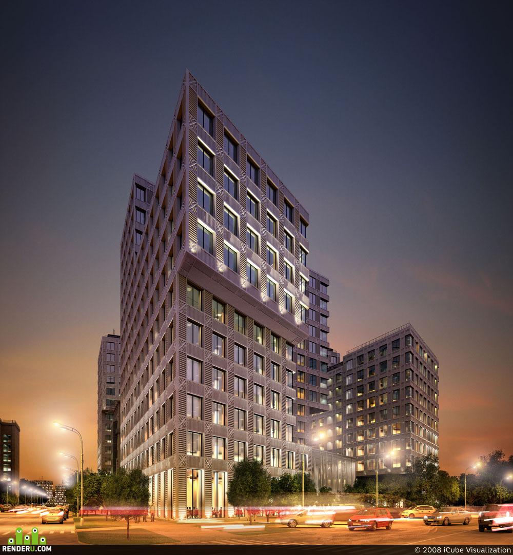preview Административно-офисный комплекс на ул. Можайский Вал