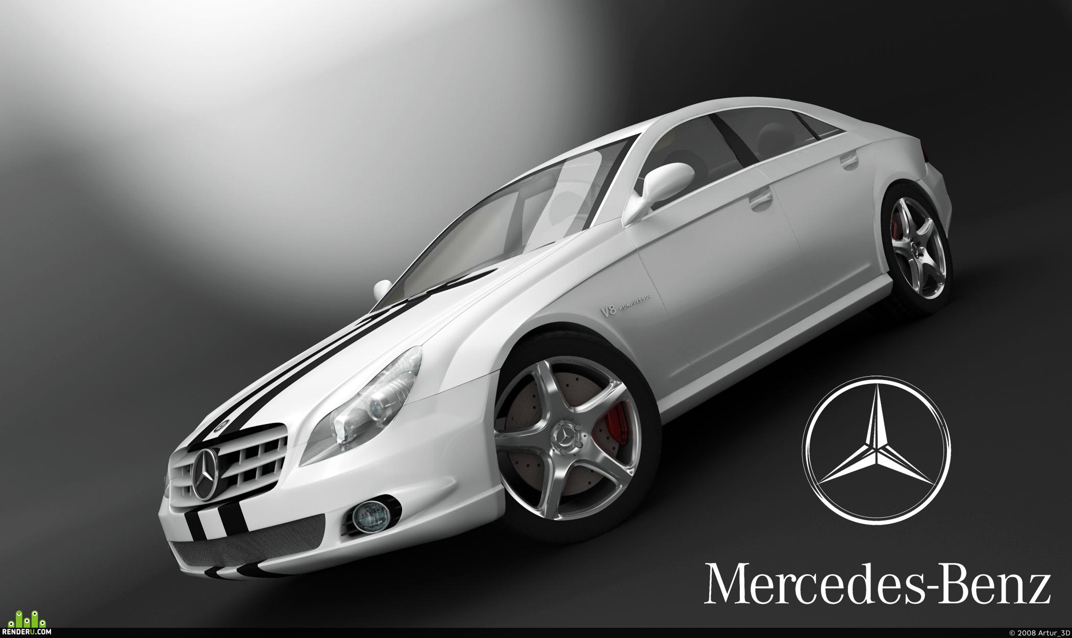 preview Mercedes-Benz CLS 500