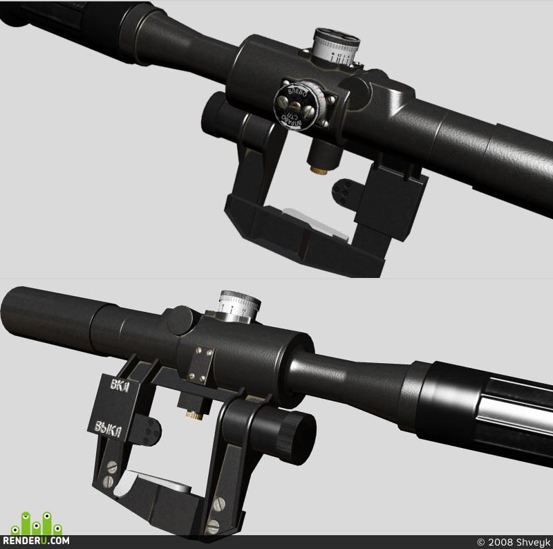 preview Прицел снайперский оптический ПСО-1