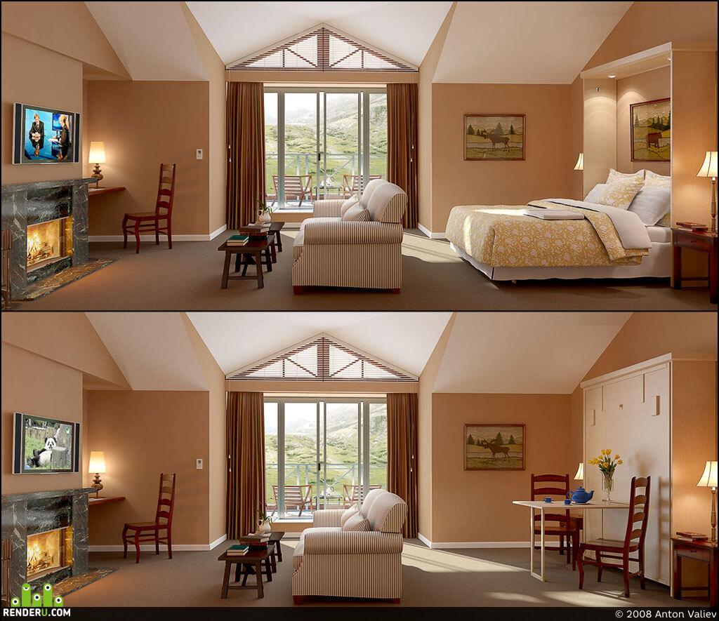 preview Комната в отеле
