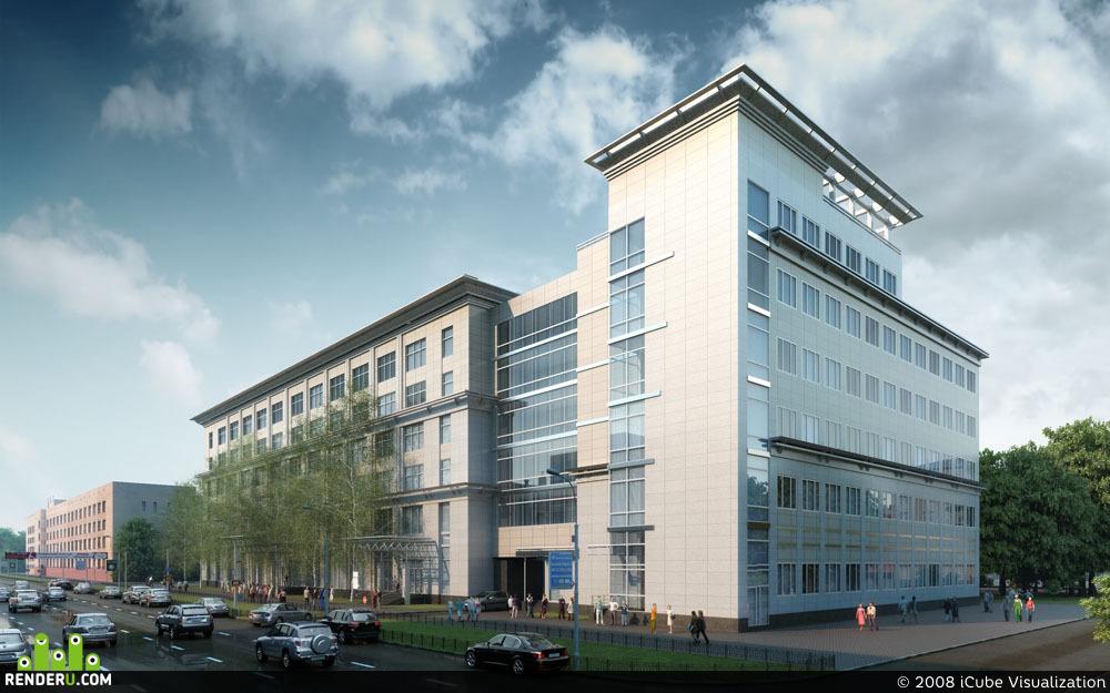 preview Реконструкция офисного центра.