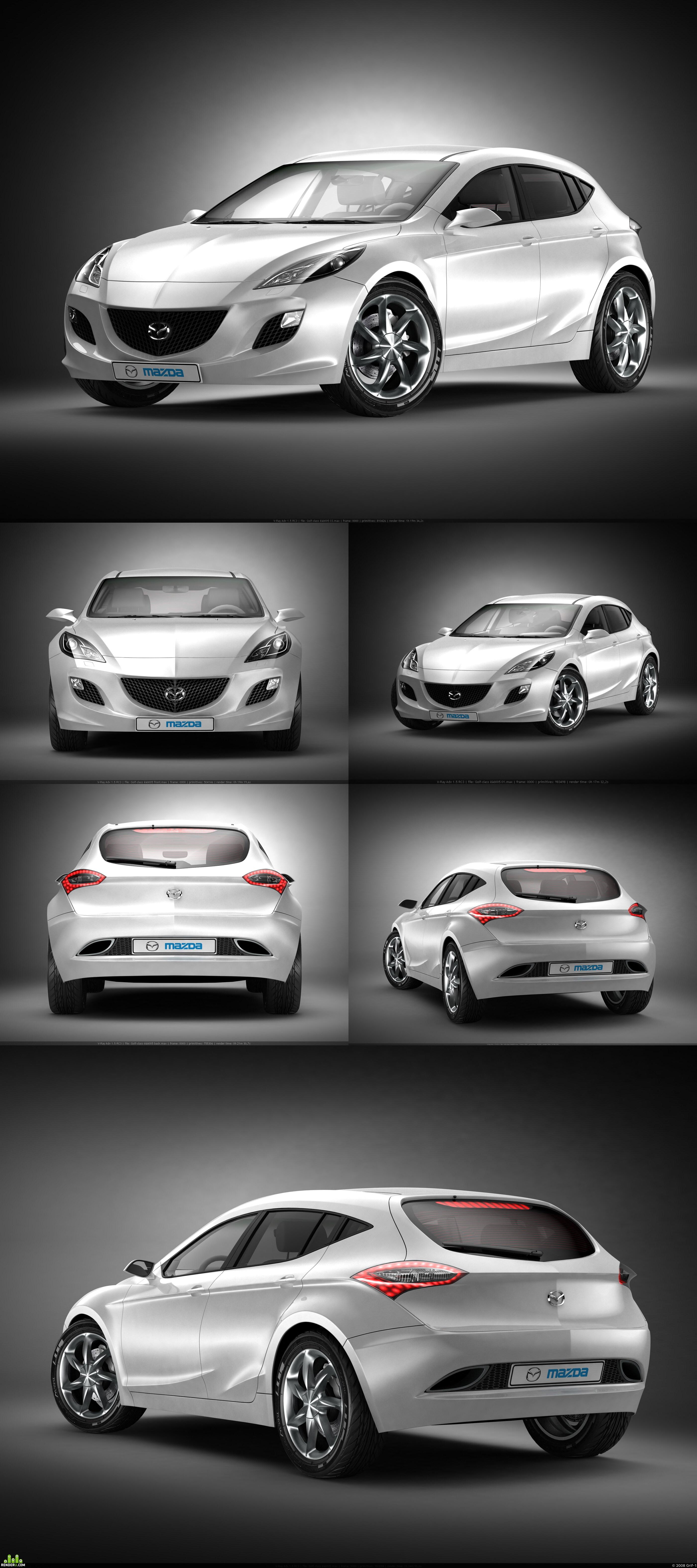 preview NEW Mazda 3