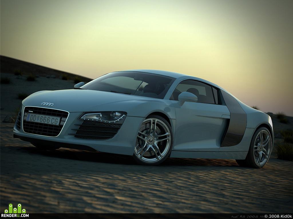 preview Audi R8