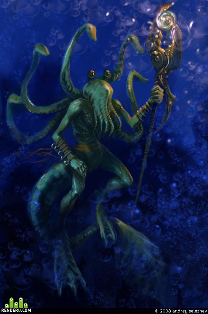 preview морской персонаж