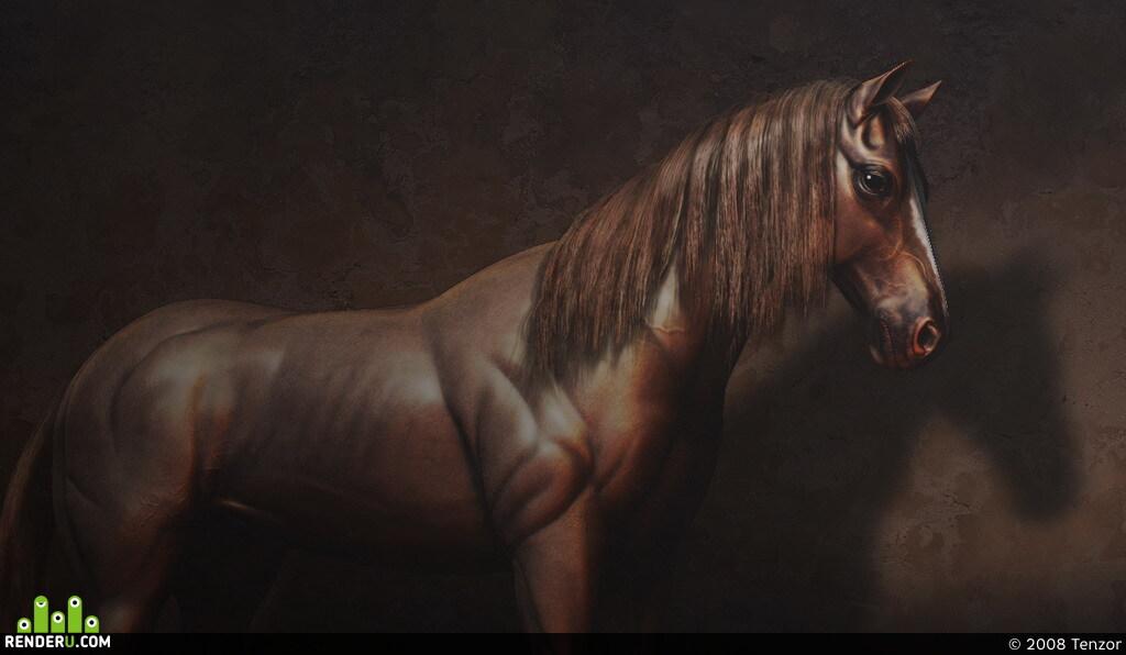 preview Лошадь