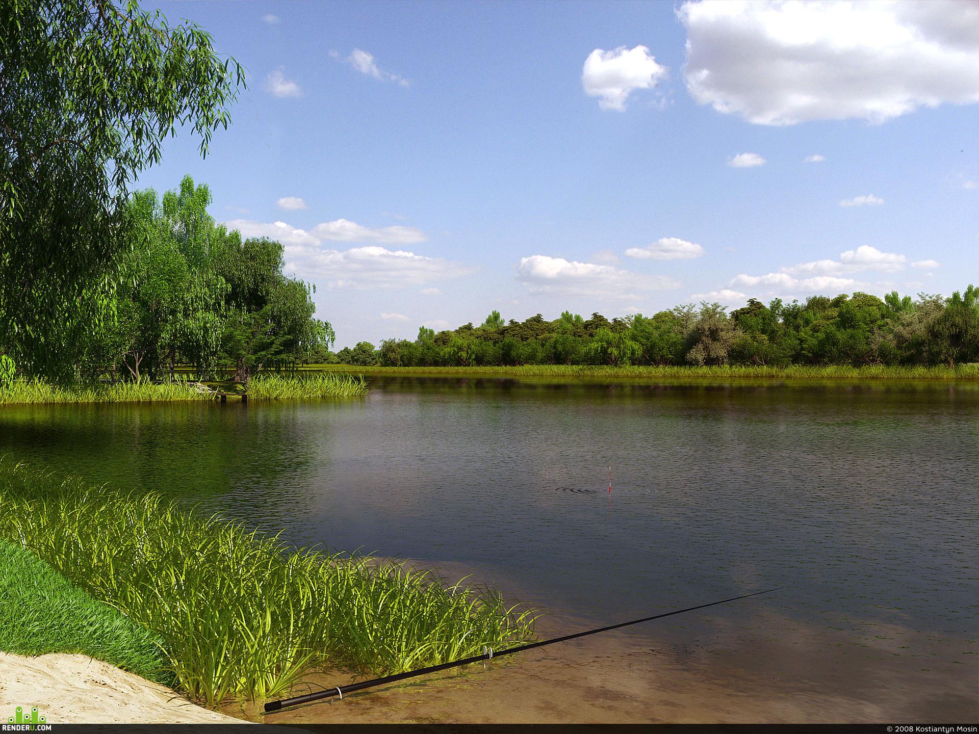 preview Лето, пора на рыбалку