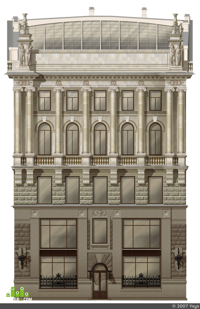 preview проект реставрации фасада