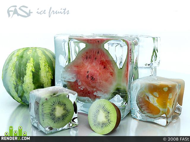 preview Ледяные фрукты