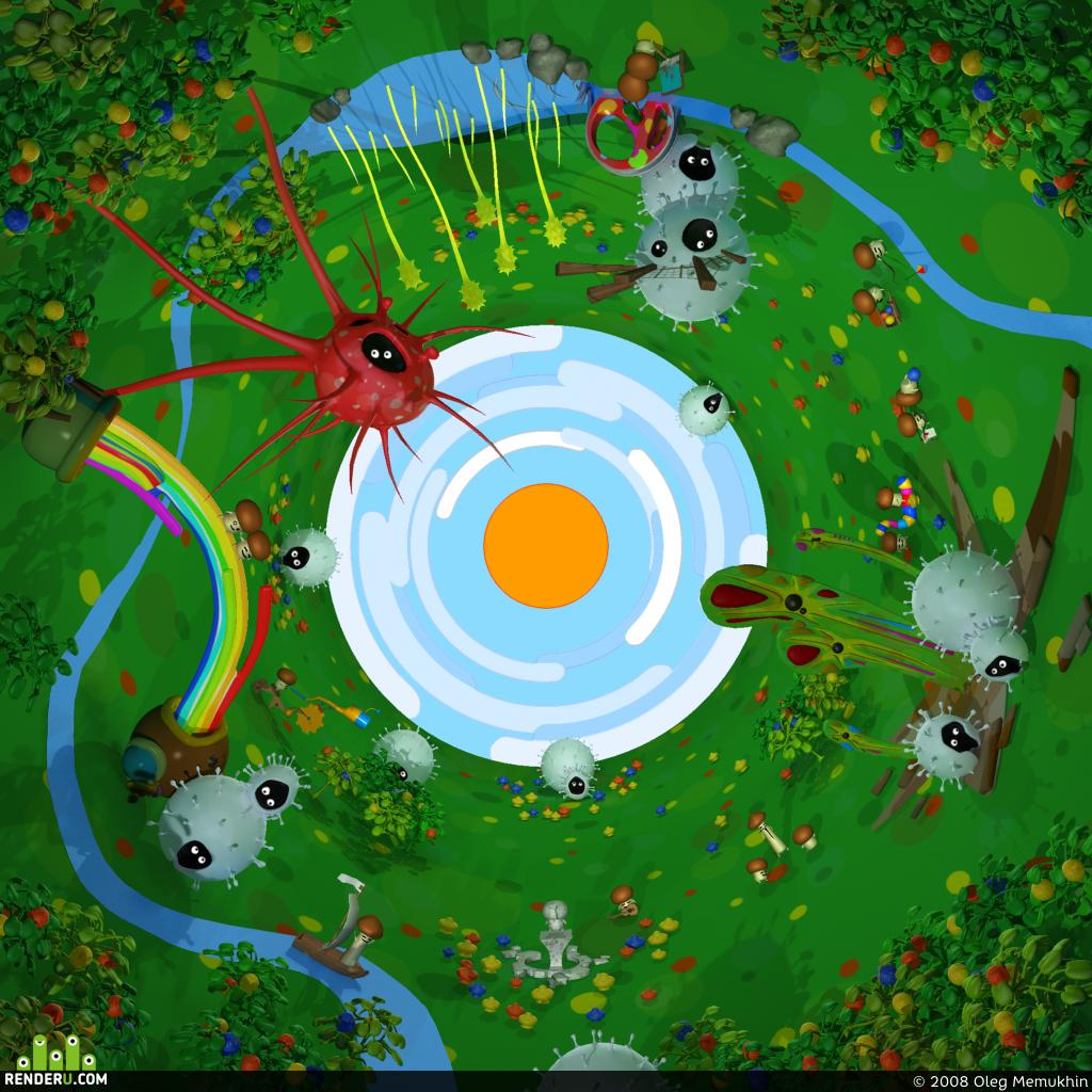preview Город грибов
