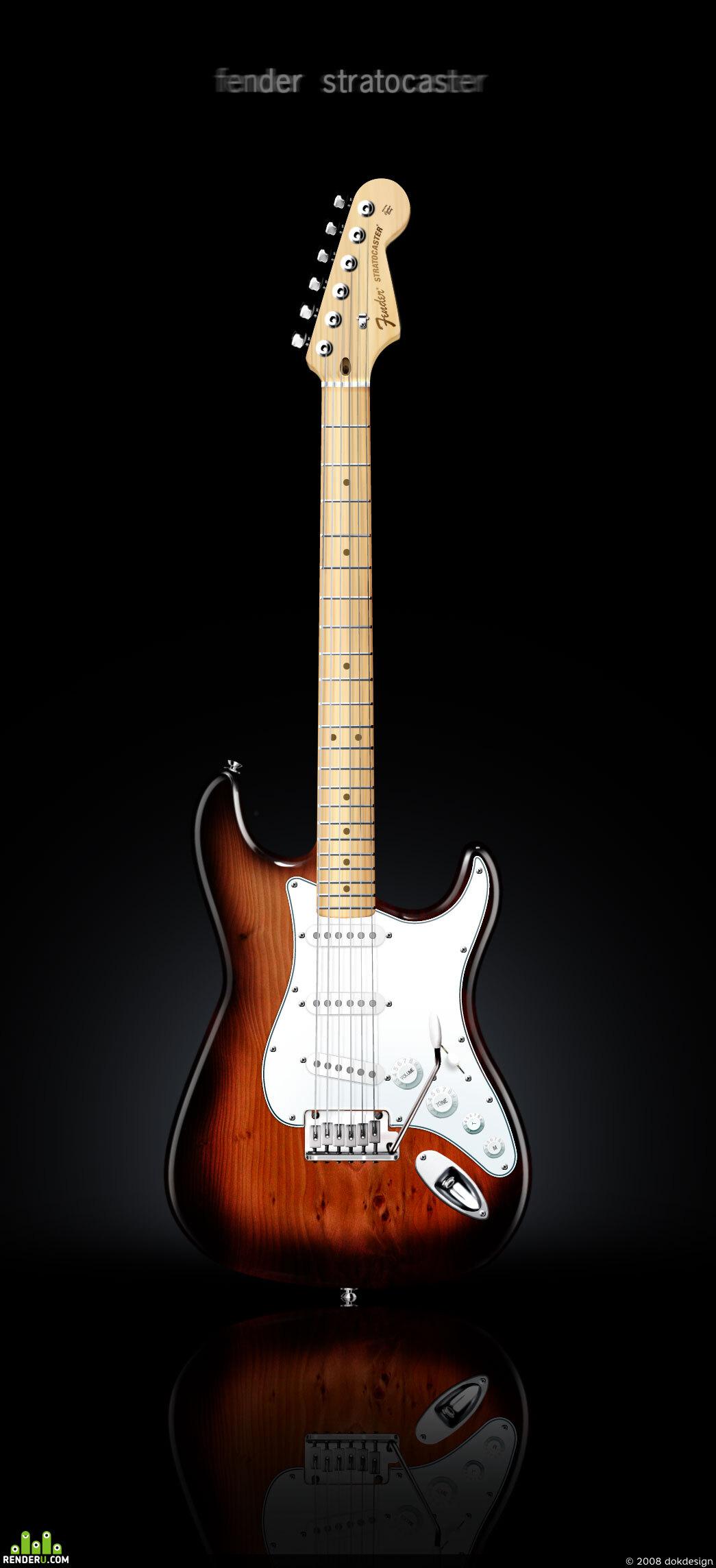 preview Fender Stratocaster