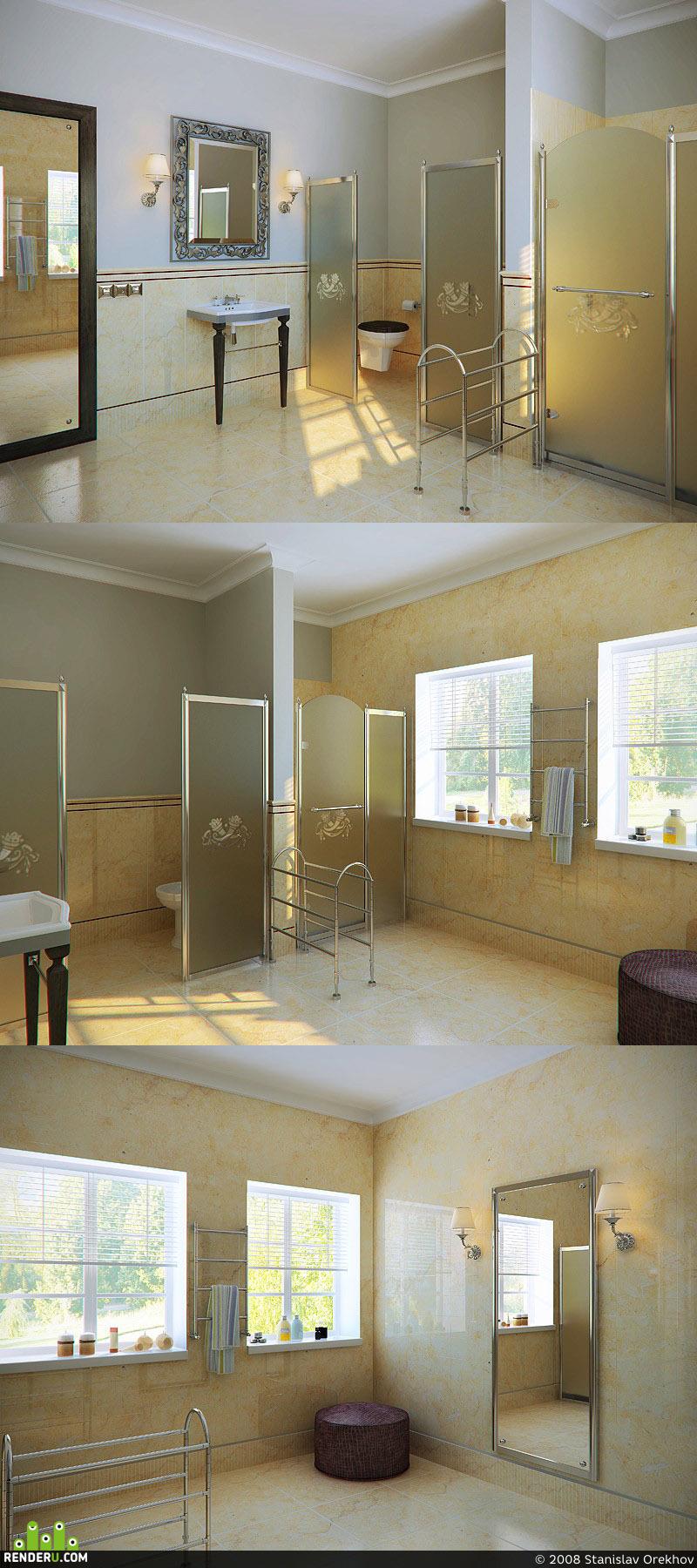 preview Ванная комната в Испанской вилле