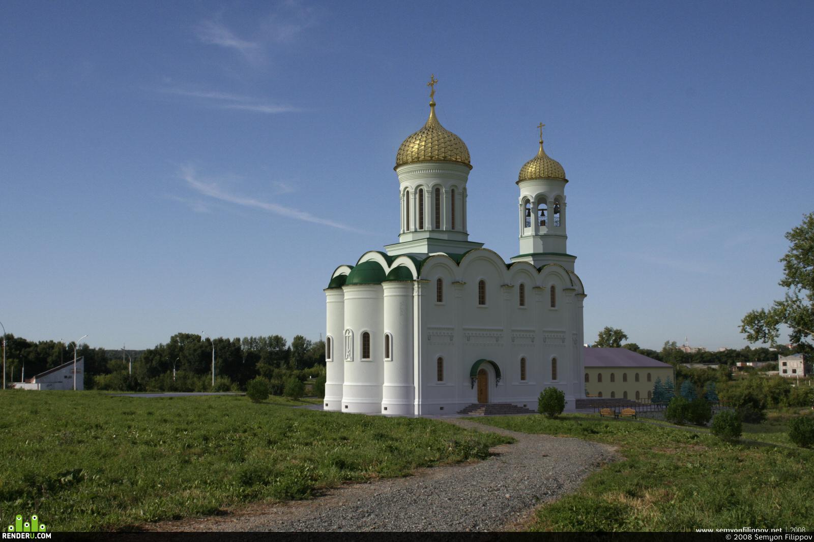 preview Храм св. вмц. Варвары, г. Кемерово