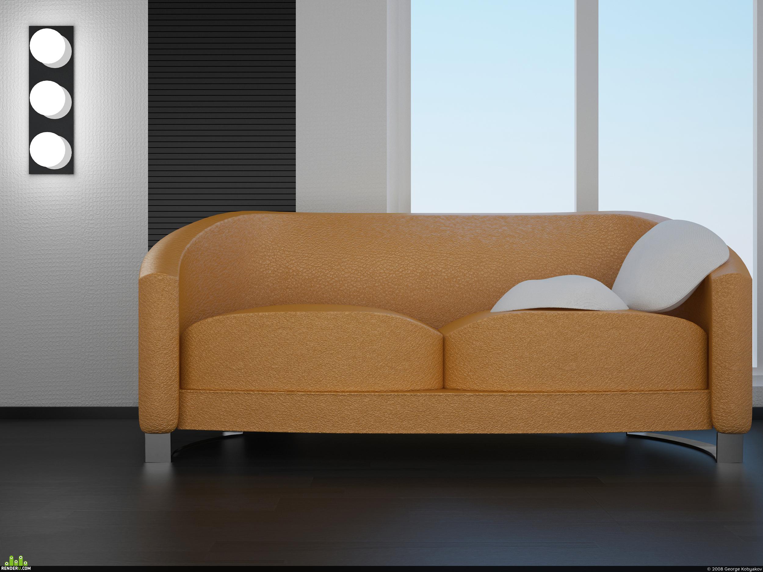 preview Orange_Sofa