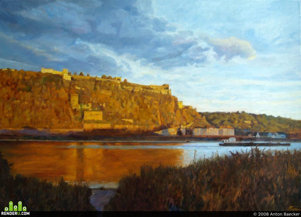 preview Крепость на берегу реки