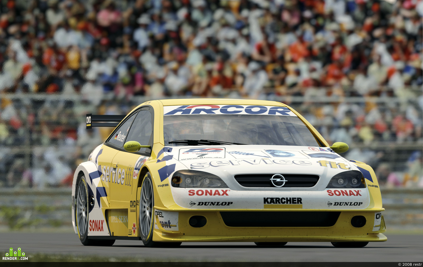 preview Opel Astra DTM