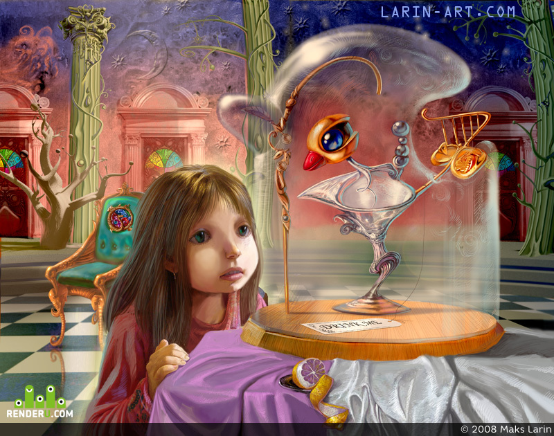 preview Алиса и стеклянная птица