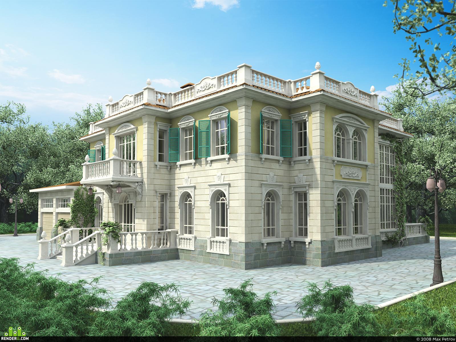 preview дом в южном стиле