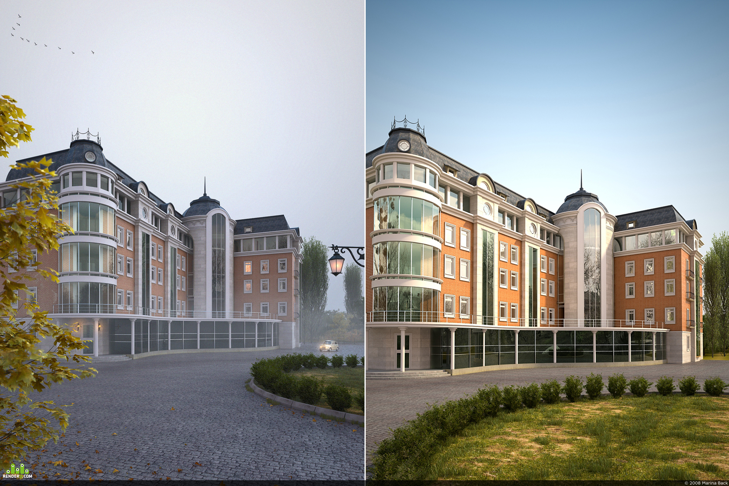 preview Проект отеля